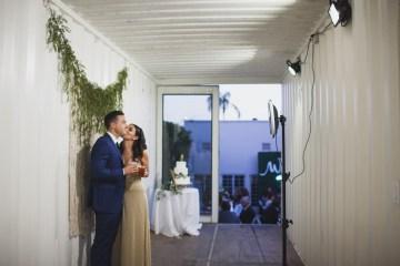 Modern Hip Taco Wedding In A Funky Gallery Venue   Claire Eliza 46