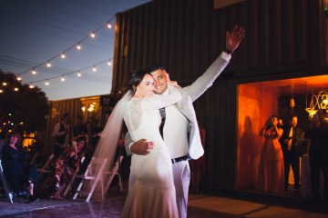 Modern Hip Taco Wedding In A Funky Gallery Venue | Claire Eliza 54