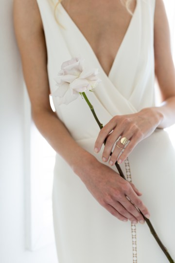 Modern Silk Gowns & Floral Wall Inspiration For The Hip Bride | Anastasia Fua elliftheartist 22