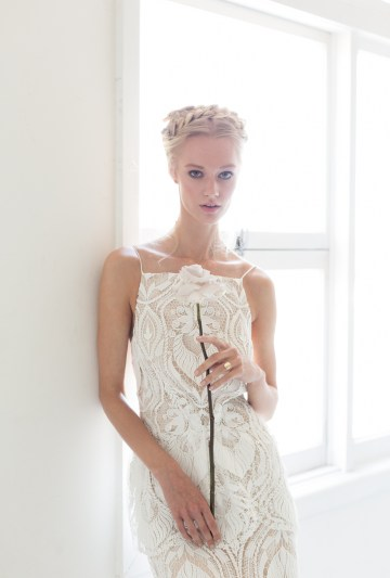 Modern Silk Gowns & Floral Wall Inspiration For The Hip Bride | Anastasia Fua elliftheartist 46