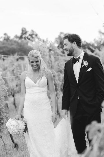 Relaxed Virginia Winery Wedding | Alison Leigh Photography 2