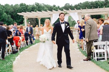 Relaxed Virginia Winery Wedding | Alison Leigh Photography 26