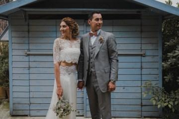 Rustic Barcelona Wedding Featuring Chic Bridal Separates | Visual Foto 11