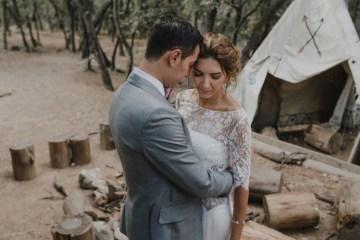 Rustic Barcelona Wedding Featuring Chic Bridal Separates | Visual Foto 13