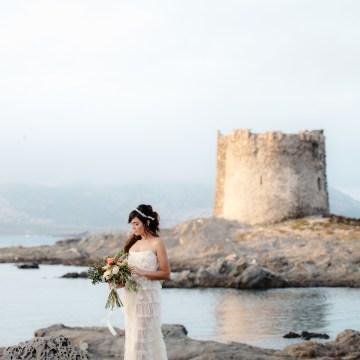 Shipwrecked; Seaside Elopement Inspiration From Sardinia | Valeria Mameli 25