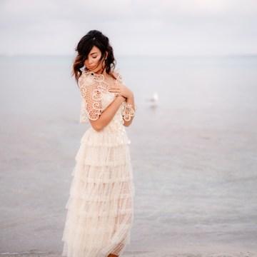 Shipwrecked; Seaside Elopement Inspiration From Sardinia | Valeria Mameli 31
