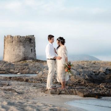 Shipwrecked; Seaside Elopement Inspiration From Sardinia | Valeria Mameli 37