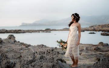 Boho Styled Elopement On The Shores Of Sardinia