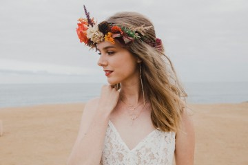 Southwestern Styled Beachy Wedding Ideas | Flourish | Madeline Barr Photo 14