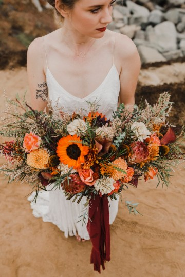 Southwestern Styled Beachy Wedding Ideas | Flourish | Madeline Barr Photo 21