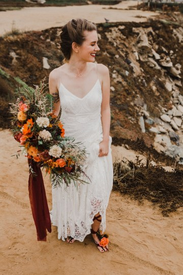 Southwestern Styled Beachy Wedding Ideas | Flourish | Madeline Barr Photo 23