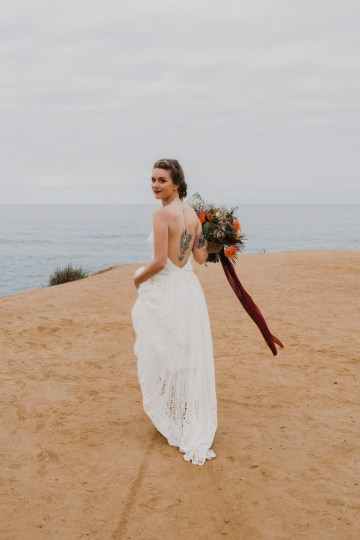 Southwestern Styled Beachy Wedding Ideas | Flourish | Madeline Barr Photo 24