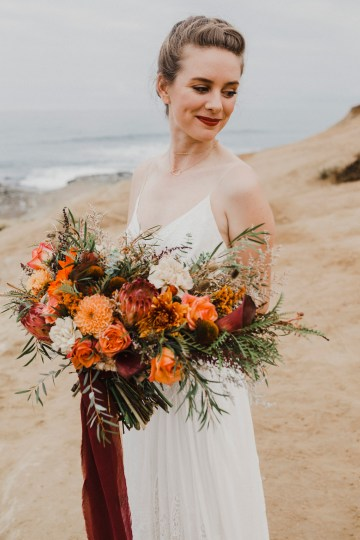 Southwestern Styled Beachy Wedding Ideas | Flourish | Madeline Barr Photo 25