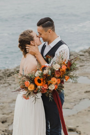 Southwestern Styled Beachy Wedding Ideas | Flourish | Madeline Barr Photo 31