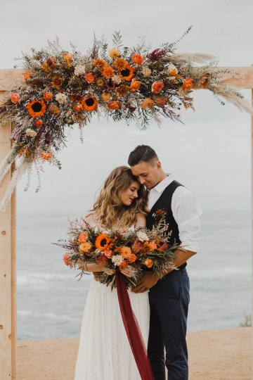 Southwestern Styled Beachy Wedding Ideas | Flourish | Madeline Barr Photo 40