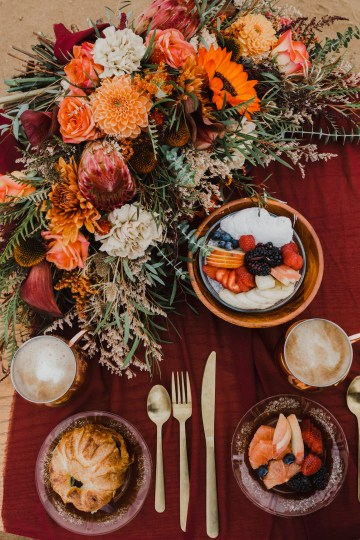 Southwestern Styled Beachy Wedding Ideas | Flourish | Madeline Barr Photo 43