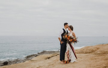 Southwestern Styled Beachy Wedding Inspiration