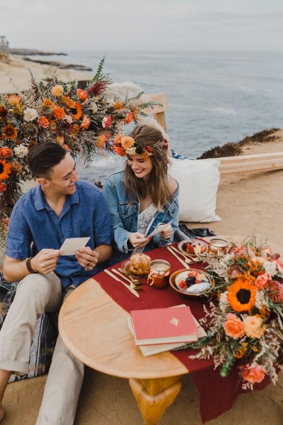 Southwestern Styled Beachy Wedding Ideas | Flourish | Madeline Barr Photo 51
