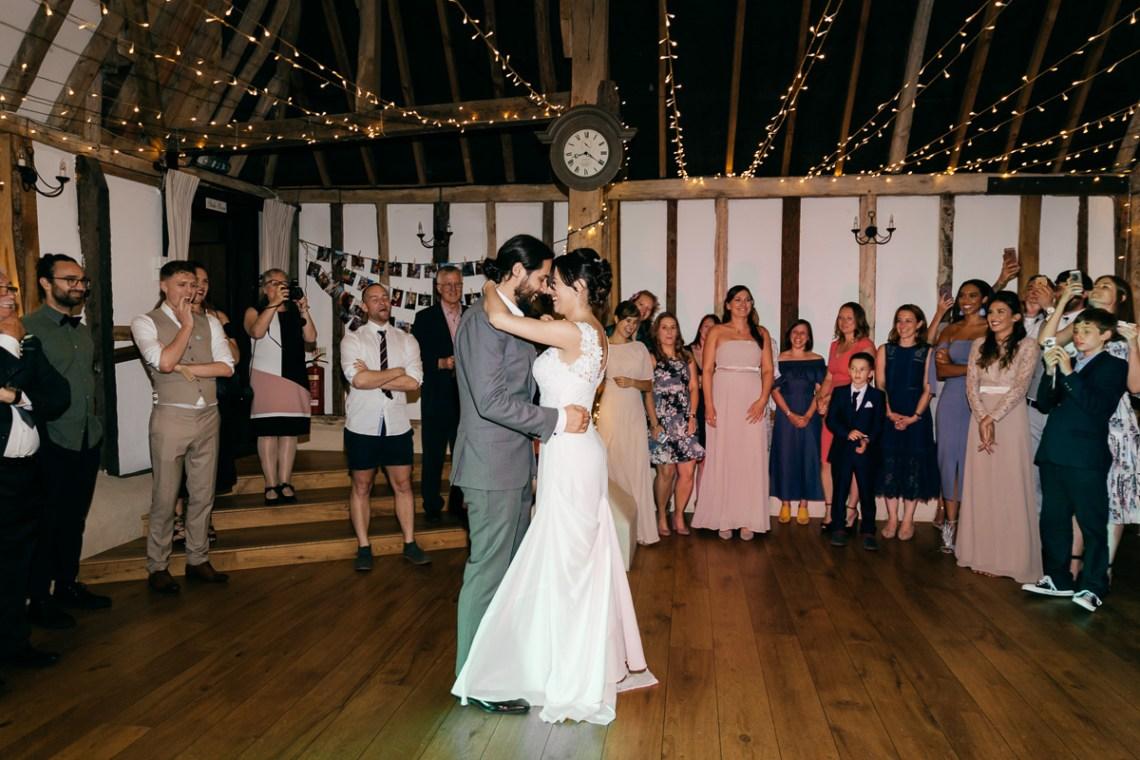 Charming & Personal Clock Barn Wedding | Amber Marie Photography 19