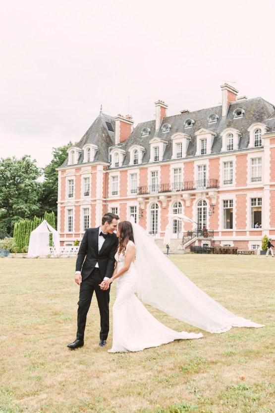 Glamorous French Chateau Wedding | Christina Sarah Photography 20