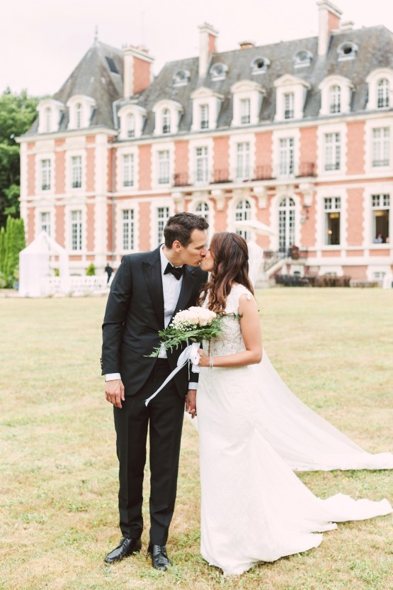 Glamorous French Chateau Wedding | Christina Sarah Photography 21
