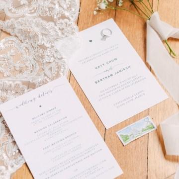 Glamorous French Chateau Wedding | Christina Sarah Photography 6