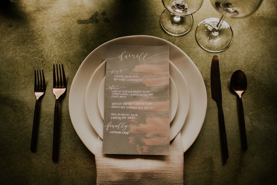 Industrial Cool Meats Winery Warmth; Candlelit Wedding Ideas | The Gifford Collective | Genesis Geiger 36