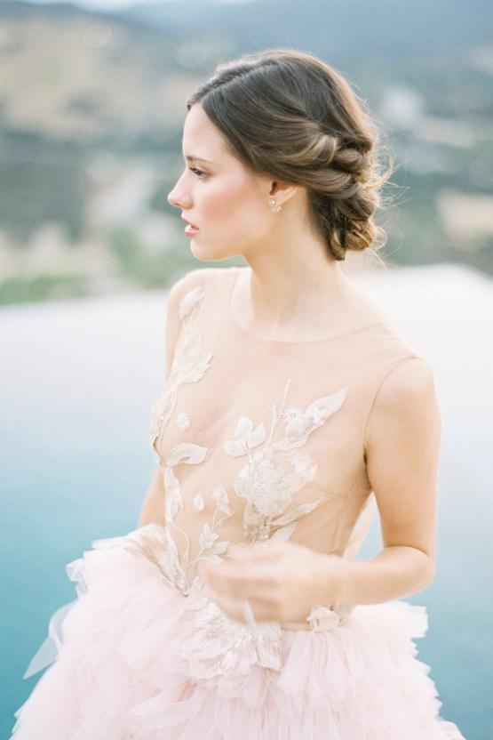 Malibu Wedding Inspiration With A Ruffled Pink Dress | Pura Vida Photography 28