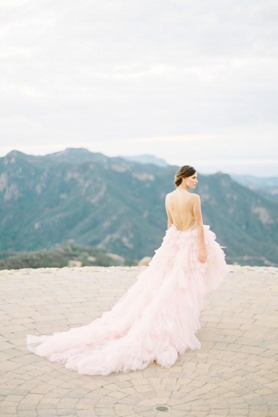 Malibu Wedding Inspiration With A Ruffled Pink Dress | Pura Vida Photography 37