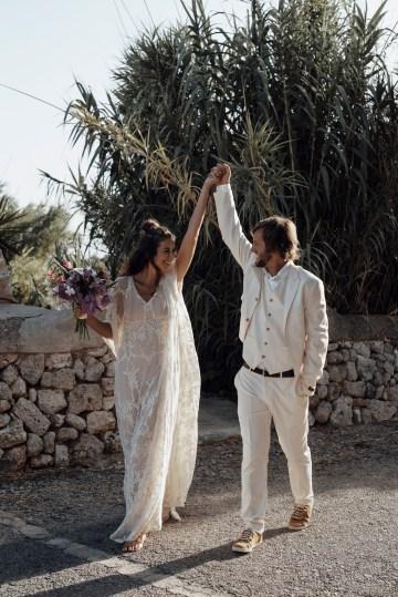 Wild, Spanish Wedding Inspiration For Bohemian Brides | IDO Events | Kevin Klein 24