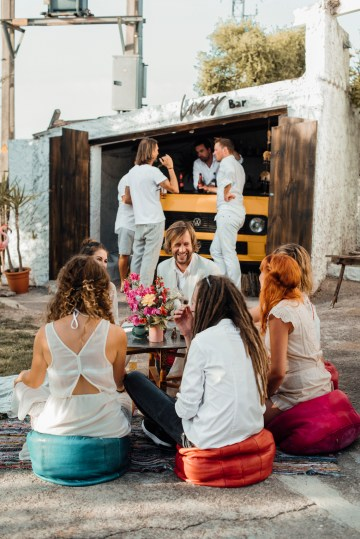 Wild, Spanish Wedding Inspiration For Bohemian Brides | IDO Events | Kevin Klein 27