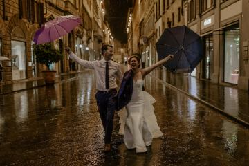 Wildy Romantic & Outrageously Fun Florence Elopement | Kelly Redinger Photography 40
