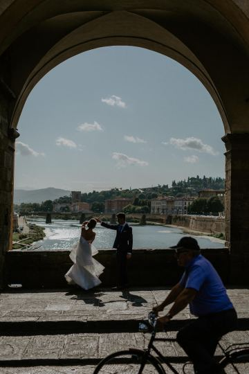 Wildy Romantic & Outrageously Fun Florence Elopement | Kelly Redinger Photography 43