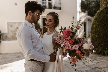 Bougainvillea Wedding Inspiration With Modern Silk Gowns   IDO Events   Kevin Klein 41