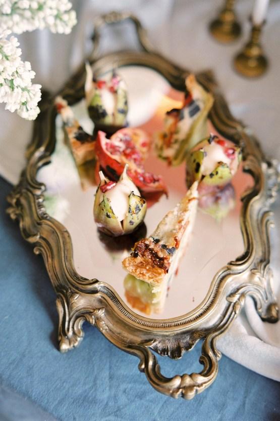 Citrus & Peach Chateau Wedding Inspiration | Lucy Davenport 11