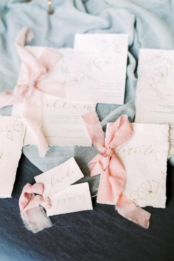 Citrus & Peach Chateau Wedding Inspiration | Lucy Davenport 16