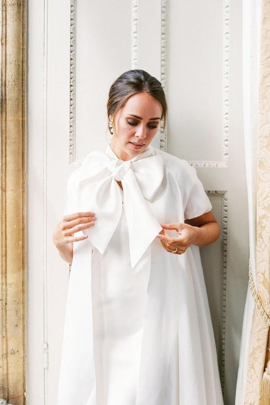 Citrus & Peach Chateau Wedding Inspiration | Lucy Davenport 19