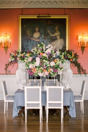 Citrus & Peach Chateau Wedding Inspiration | Lucy Davenport 2