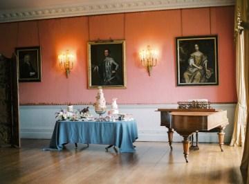 Citrus & Peach Chateau Wedding Inspiration | Lucy Davenport 33