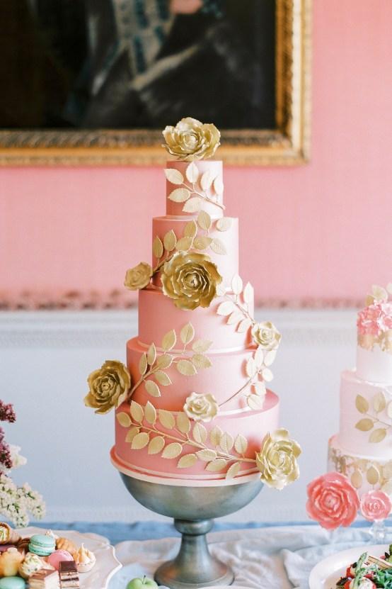 Citrus & Peach Chateau Wedding Inspiration | Lucy Davenport 8