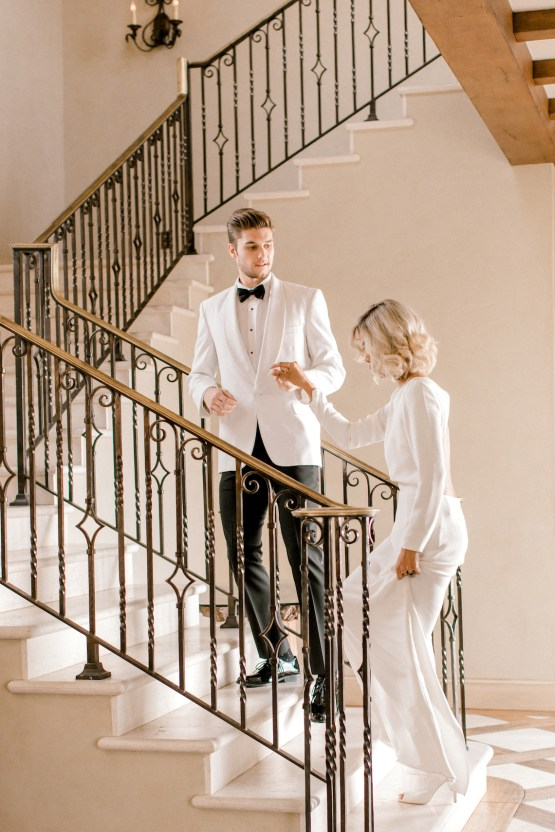 Fashion-forward Black & White Wedding Ideas From Malibu   Babsy Ly 17