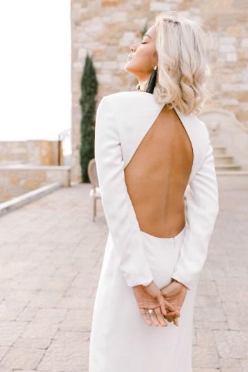 Fashion-forward Black & White Wedding Ideas From Malibu | Babsy Ly 19