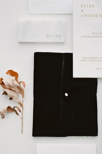 Fashion-forward Black & White Wedding Ideas From Malibu | Babsy Ly 31