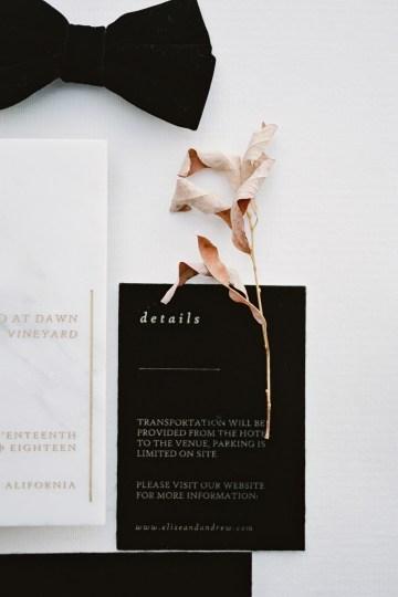 Fashion-forward Black & White Wedding Ideas From Malibu | Babsy Ly 33