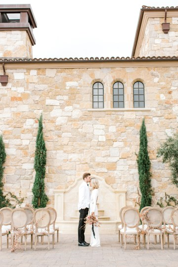 Fashion-forward Black & White Wedding Ideas From Malibu | Babsy Ly 36