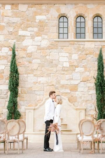 Fashion-forward Black & White Wedding Ideas From Malibu | Babsy Ly 7