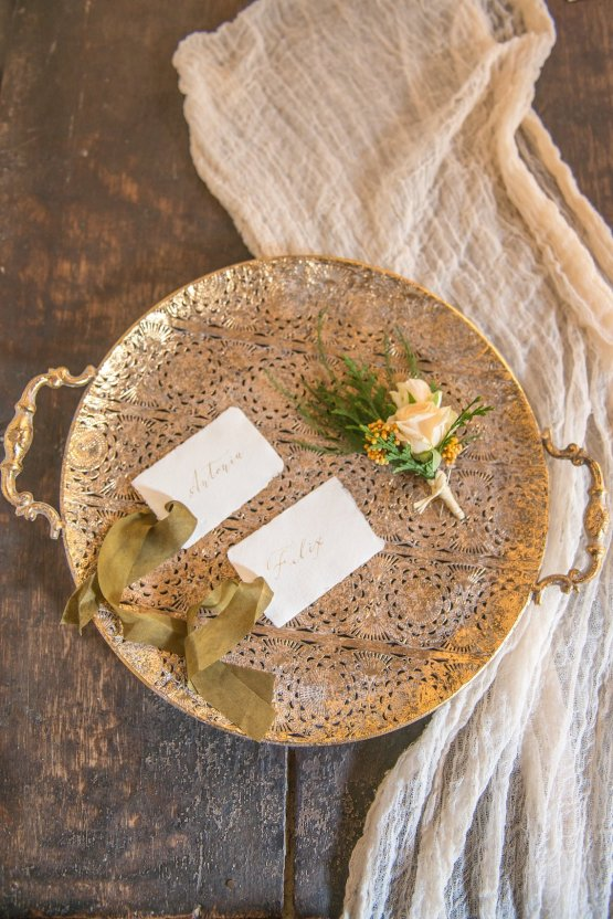 Gilded Arabic & Spanish Wedding Inspiration | Anna + Mateo 1