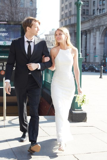 How To Style Your Intimate Wedding – The Elopement Fashion Guide | David's Bridal Little White Dresses 21