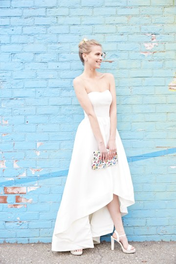 How To Style Your Intimate Wedding – The Elopement Fashion Guide | David's Bridal Little White Dresses 40