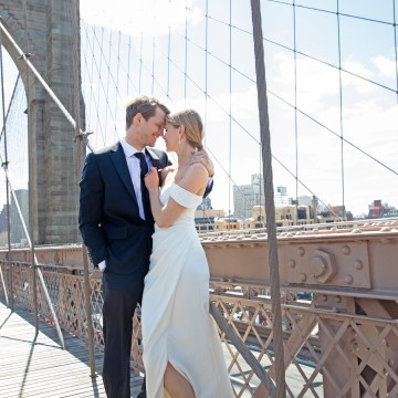 How To Style Your Intimate Wedding – The Elopement Fashion Guide | David's Bridal Little White Dresses 7